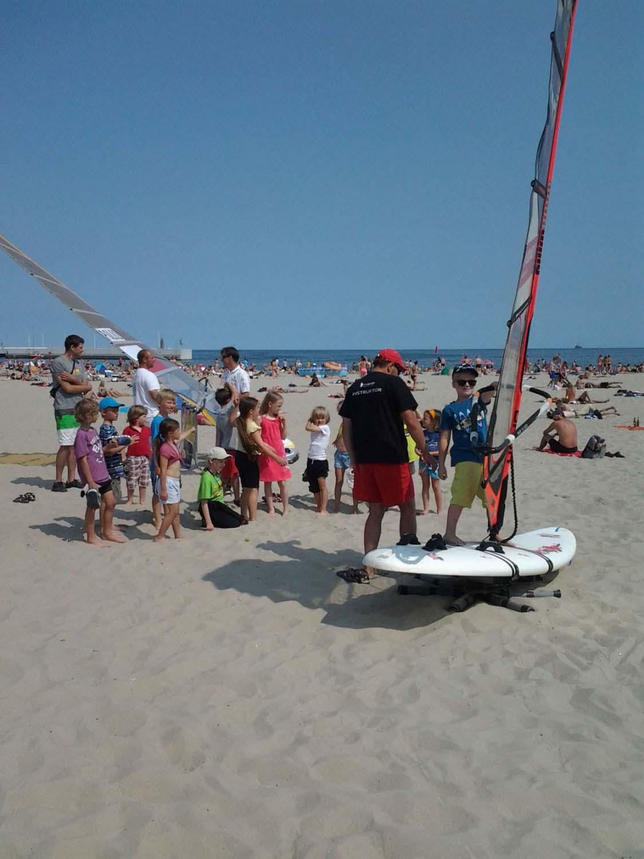 Suchy trening Trzy dni windsurfingu z Piotrem Myszką Trzy dni windsurfingu z Piotrem Myszką 20130709 143353