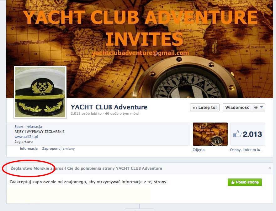 YCA_11_10_2013 YACHT CLUB ADVENTURE – mały przekręt czy wielka firma? YACHT CLUB ADVENTURE – mały przekręt czy wielka firma? YCA 11 10 20131