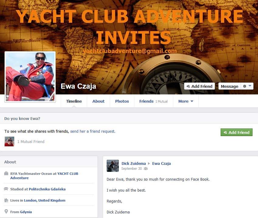 YACHT CLUB ADVENTURE ewa czaja YACHT CLUB ADVENTURE – mały przekręt czy wielka firma? YACHT CLUB ADVENTURE – mały przekręt czy wielka firma? ewa czaja