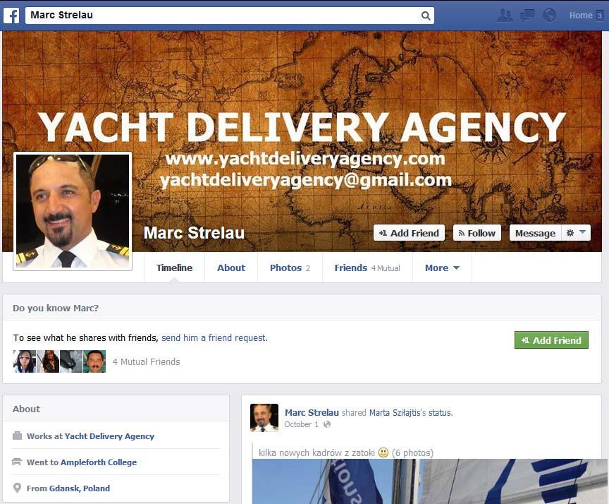 YACHT CLUB ADVENTURE – mały przekręt czy wielka firma? YACHT CLUB ADVENTURE – mały przekręt czy wielka firma? marc strelau