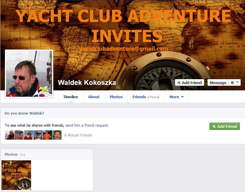waldek kokoszka YACHT CLUB ADVENTURE YACHT CLUB ADVENTURE – mały przekręt czy wielka firma? YACHT CLUB ADVENTURE – mały przekręt czy wielka firma? waldek kokoszka