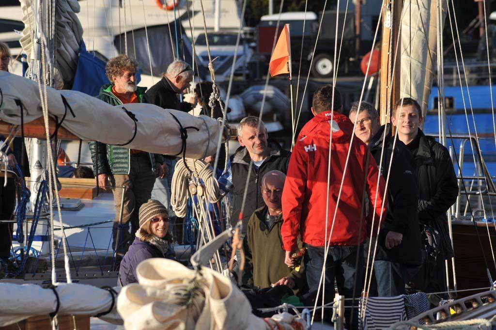 """próchno i rdza ""Próchno i Rdza"" – zlot łódek o klasycznych konstrukcjach z drewna i stali opanował Gdynię LTF 6184"