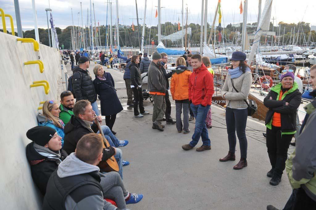 """próchno i rdza ""Próchno i Rdza"" – zlot łódek o klasycznych konstrukcjach z drewna i stali opanował Gdynię LTF 6202"