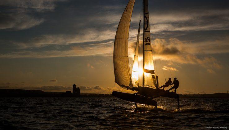 Sezon żeglarski na Pomorzu otwarty! Sezon żeglarski na Pomorzu otwarty! 77racing trening 0513 14 04 738x420