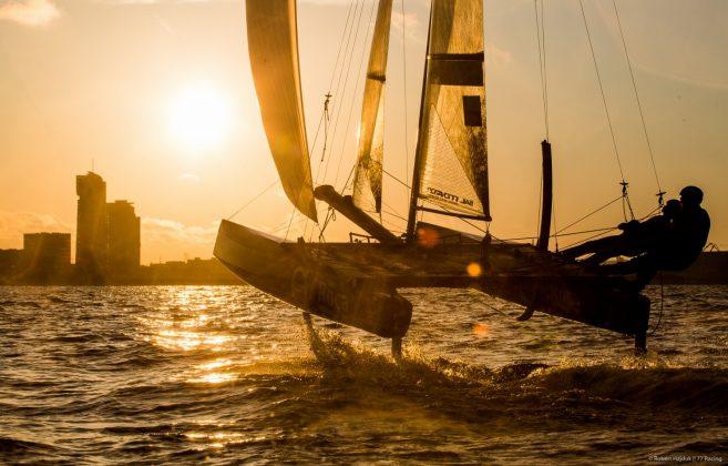 Sezon żeglarski na Pomorzu otwarty! Sezon żeglarski na Pomorzu otwarty! 77racing trening 0513 14 05 657x420