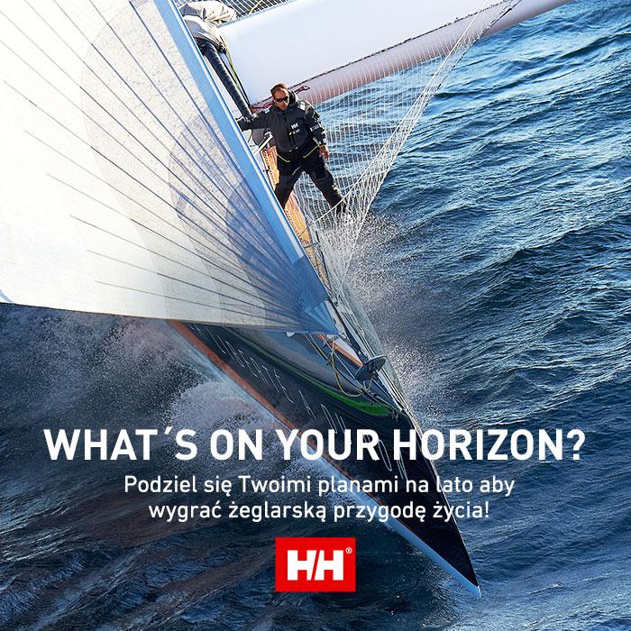 Konkurs Helly hansen konkurs Helly Hansen Weź udział w konkursie Helly Hansen i wygraj żeglarską przygodę z ambasadorem marki Thomasem Coville PL WOYH FB post LL