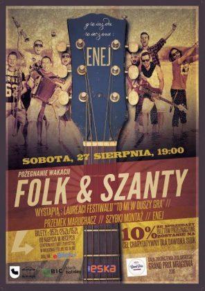 3 Finał ŻGP Mrągowa w szantowo-folkowym rytmie 3 Finał ŻGP Mrągowa w szantowo-folkowym rytmie ENEJ 296x420