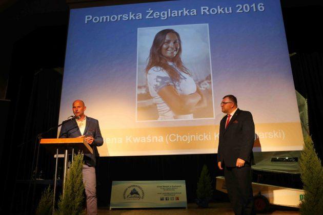 pomorska gala żeglarska Nagradzanie i świętowanie – Pomorska Gala Żeglarska 81 PGZ 2016 Cezary Spigarski 630x420