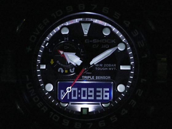 g-shock gulfmaster gwn-1000 Zegarek dla żeglarzy – Casio G-SHOCK GULFMASTER GWN-1000 Casio G SHOCK GWN 1000B 1B LED 560x420