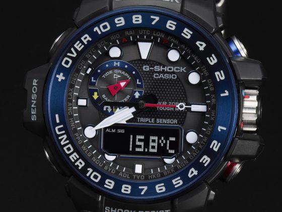 g-shock gulfmaster gwn-1000 Zegarek dla żeglarzy – Casio G-SHOCK GULFMASTER GWN-1000 Casio G SHOCK GWN 1000B 1B temperature 560x420