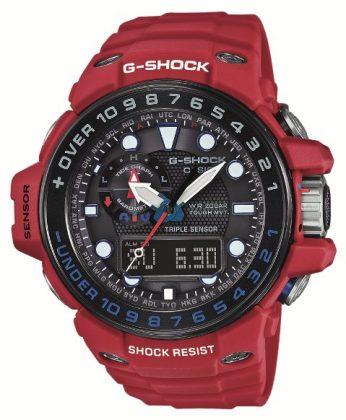 g-shock gulfmaster gwn-1000 Zegarek dla żeglarzy – Casio G-SHOCK GULFMASTER GWN-1000 GWN 1000RD 4AER 346x420