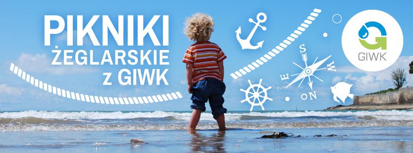 Piknik żeglarski z GIWK w Górkach Zachodnich Banner
