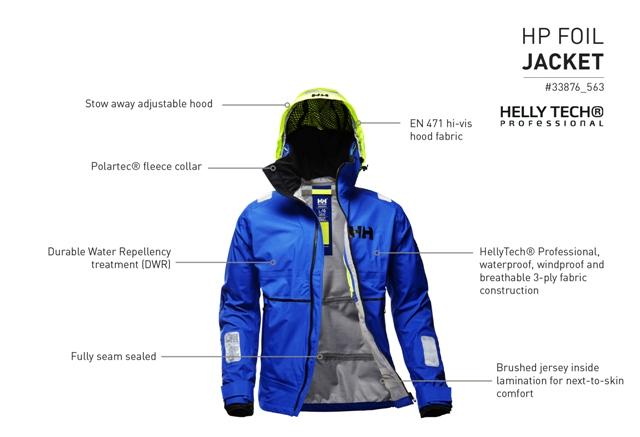 odzież helly hansen Poczuj pełnię życia dzięki technicznej kolekcji odzieży Helly Hansen HP Foil Jacket