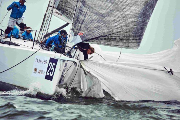 mistrzostwa europy orc Deszczowe mistrzostwa Europy ORC w żeglarstwie morskim 2 bartosz modelski 630x420