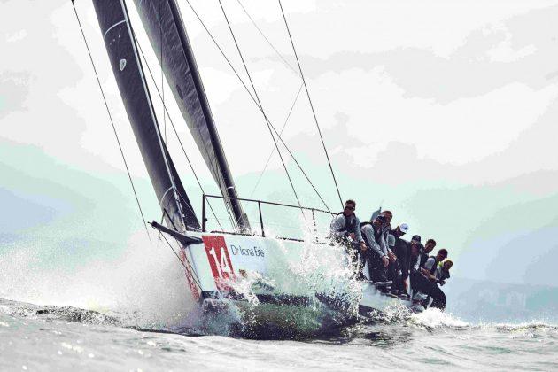 mistrzostwa europy orc Deszczowe mistrzostwa Europy ORC w żeglarstwie morskim 4 bartosz modelski 630x420