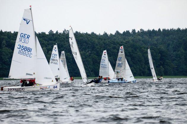vaurien Międzynarodowe Mistrzostwa Świata w klasie Vaurien w Gudowie VWG2017021 630x420