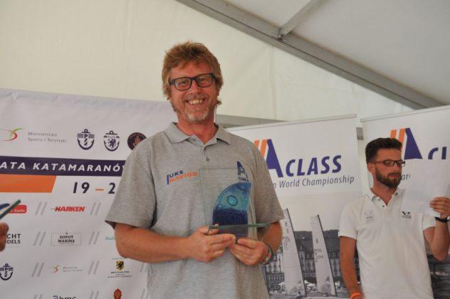 a-class Jakub Surowiec mistrzem Polski Katamaranów A-class! zakonczenie MP Klasa A 17 08 2017 Tadeusz Lademann 068 632x420