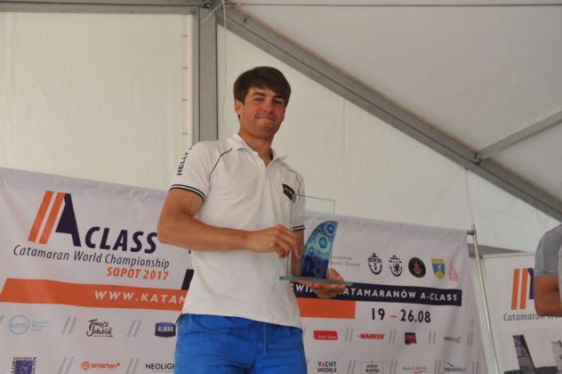 a-class Jakub Surowiec mistrzem Polski Katamaranów A-class! zakonczenie MP Klasa A 17 08 2017 Tadeusz Lademann 074 632x420