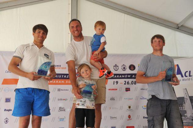 a-class Jakub Surowiec mistrzem Polski Katamaranów A-class! zakonczenie MP Klasa A 17 08 2017 Tadeusz Lademann 077 632x420