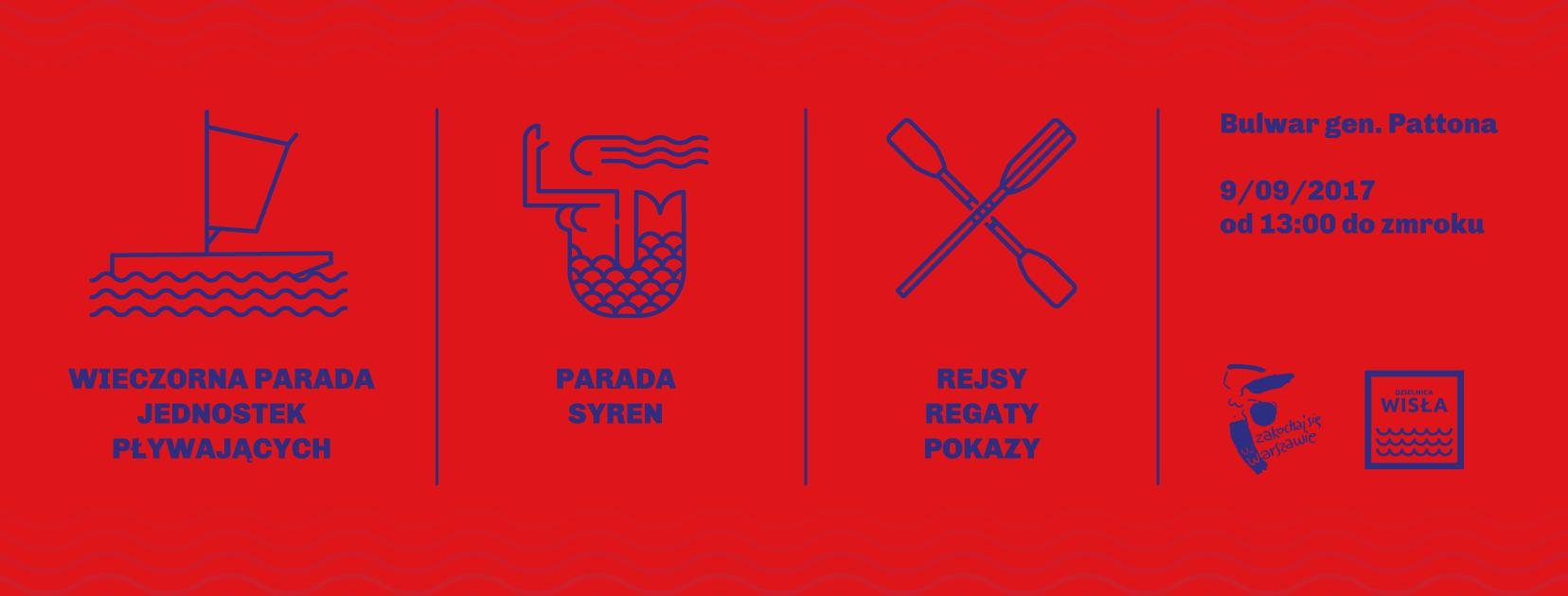 święto wisły Warszawskie Święto Wisły – już w najbliższą sobotę banner