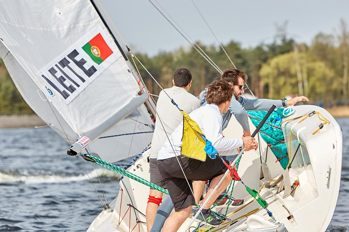 polacy match racingowcy zwyciężyli w rybniku Polacy match racingowcy zwyciężyli w Rybniku Polish Match Tour Sailing World Cup rybnik kwiecien 9E0A8085