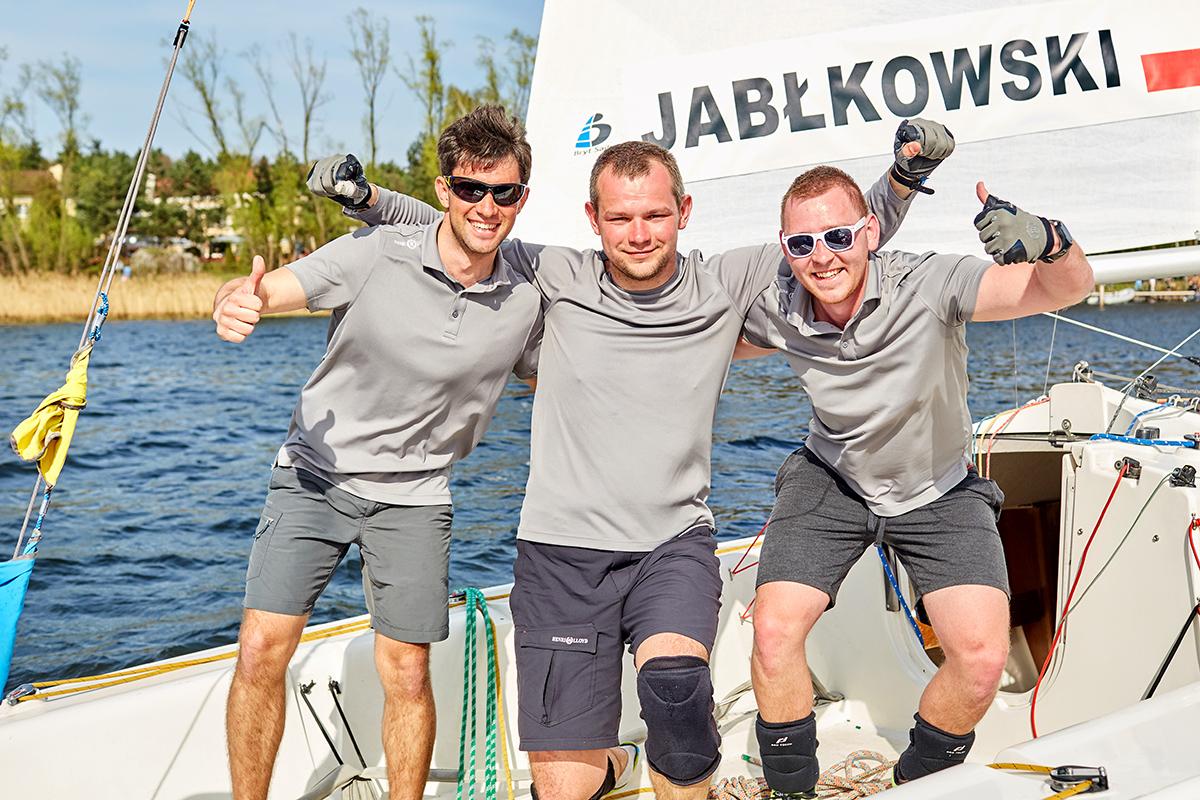polacy match racingowcy zwyciężyli w rybniku Polacy match racingowcy zwyciężyli w Rybniku Polish Match Tour Sailing World Cup rybnik kwiecien 9E0A8333
