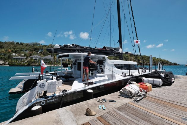 polacy liderami regat antigua sailing week Polacy liderami regat Antigua Sailing Week DSCF7821 01 630x420