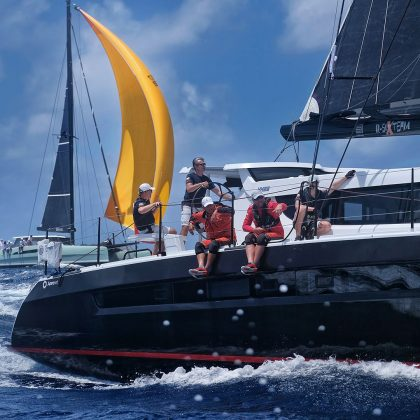 polacy liderami regat antigua sailing week Polacy liderami regat Antigua Sailing Week WhatsApp Image 2018 05 02 at 05