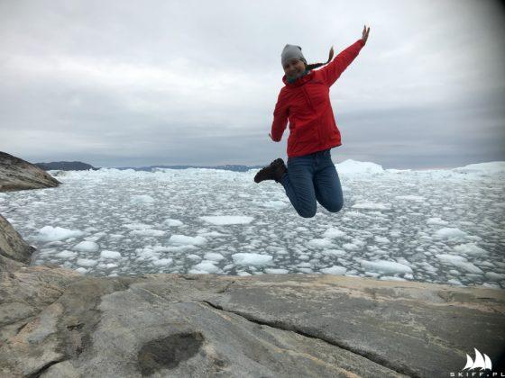 jacht crystal wyruszył ku przejściu północno-zachodniemu Jacht Crystal wyruszył ku Przejściu Północno-Zachodniemu Fjord Ilulissat zapchany lodem z lodowca 560x420