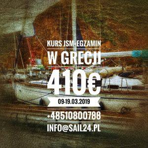 jachtowy sternik morski kurs egzamin grecja