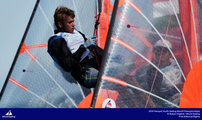 młodzieżowe mistrzostwa Świata Młodzieżowe Mistrzostwa Świata – Tytus Butowski liderem w klasie Laser Radial, udany początek deskarzy 190714 YSWC Gdynia RH 203 709x420