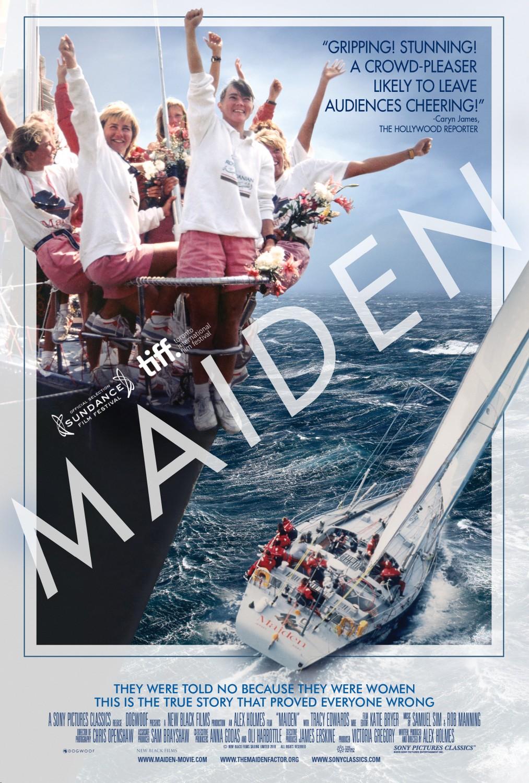 Maiden plakat maiden Maiden – żeglarski dokument już wkrótce na ekranach kin w Polsce maiden