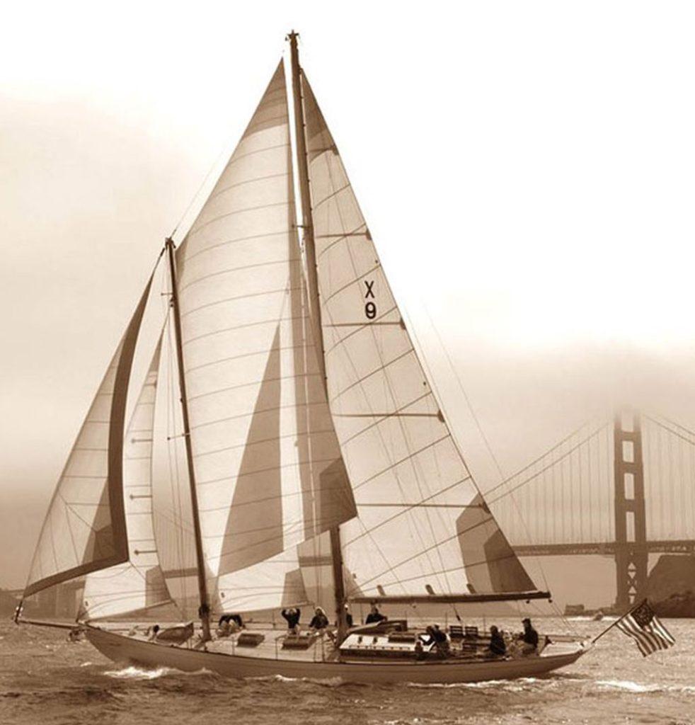 Humprey Bogart Santana żeglarstwo