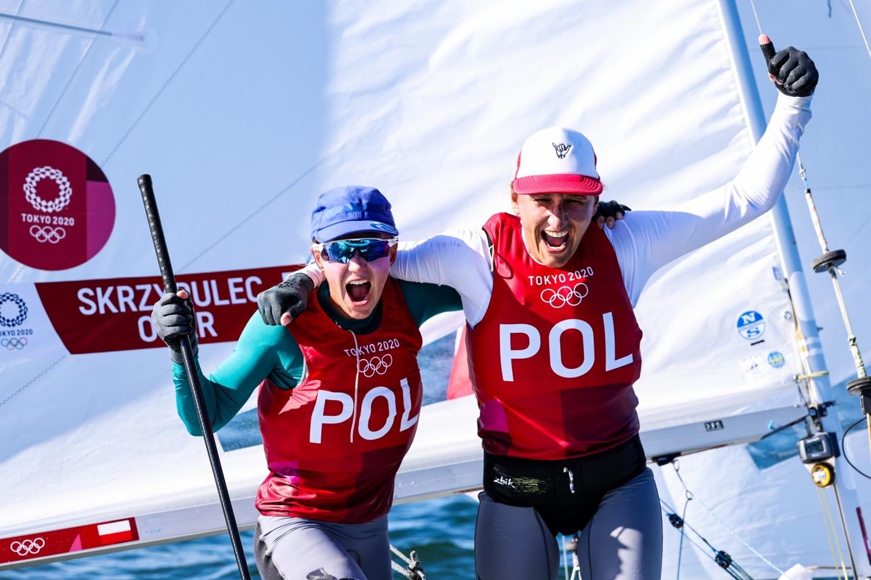 Igrzyska Olimpijskie - Klasa 470 - Agnieszka Skrzypulec Jolanta Ogar-Hill